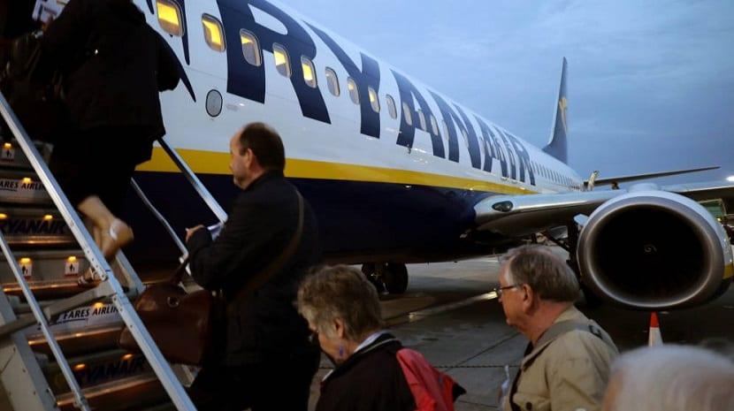 Vuelos que la empresa Ryanair ha cancelado