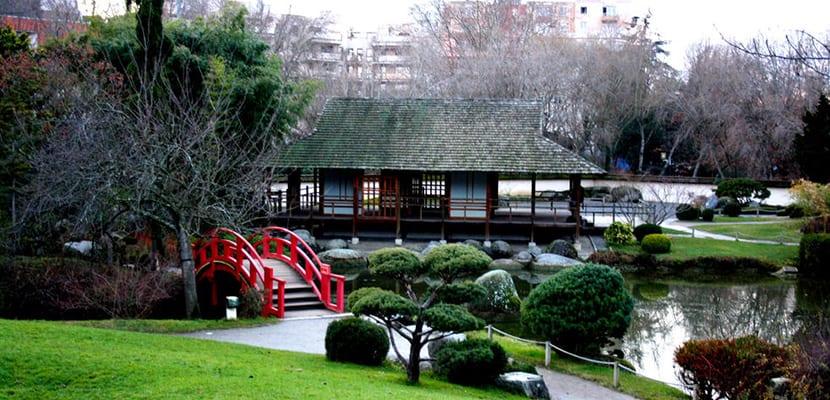 Jardín japonés
