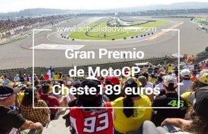 gran Premio de MotoGP de Cheste desde 189 euros