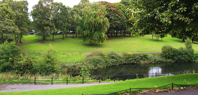 Parques en Dublín