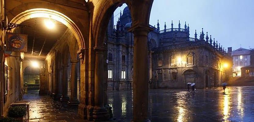 Lluvia en Galicia