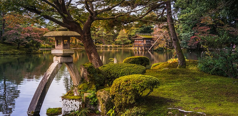 Kanazawa con el encanto del jap n medieval for Jardin kenrokuen
