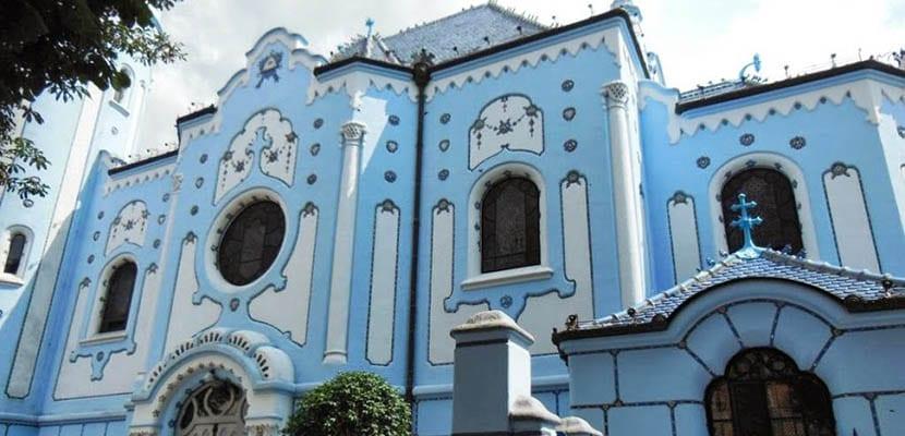 Iglesia Azul