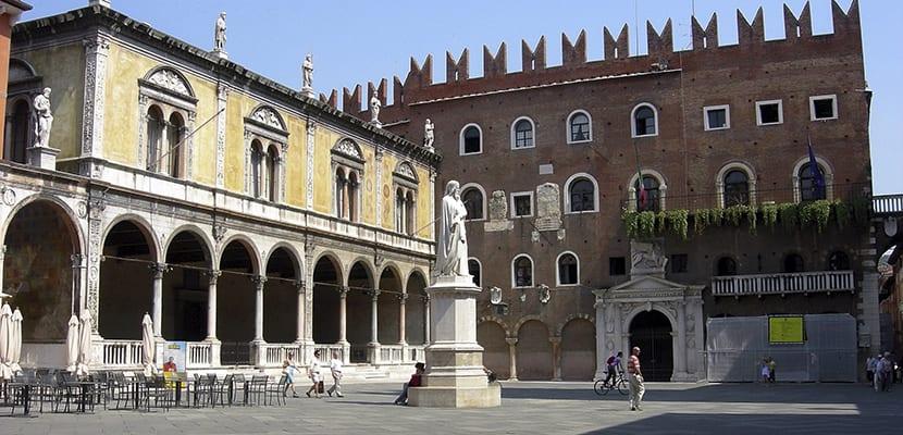 Piazza dei Signori en Verona