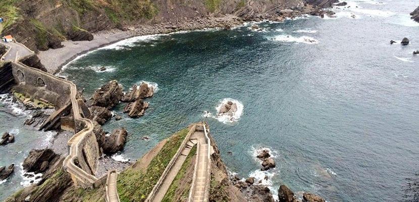 Escaleras de piedra de San Juan