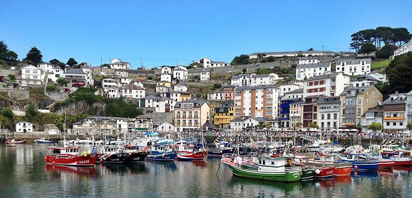 Luarca en Asturias