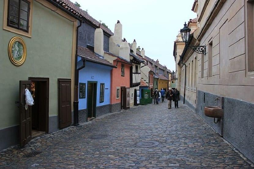 Callejón de Oro en Praga