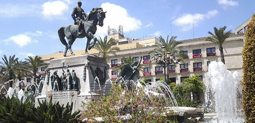 Plaza del Arenal en Jerez