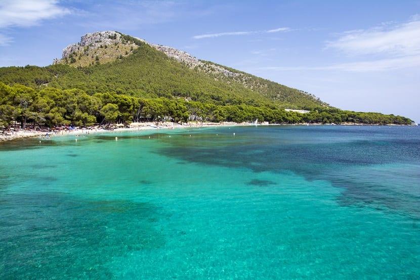 Playa Formentor Mallorca