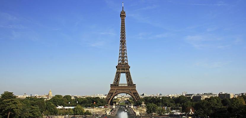 Torre Eiffel en París