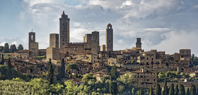 San Gimignano en Italia