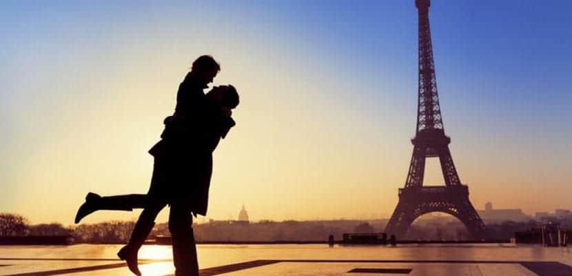 Paris en pareja