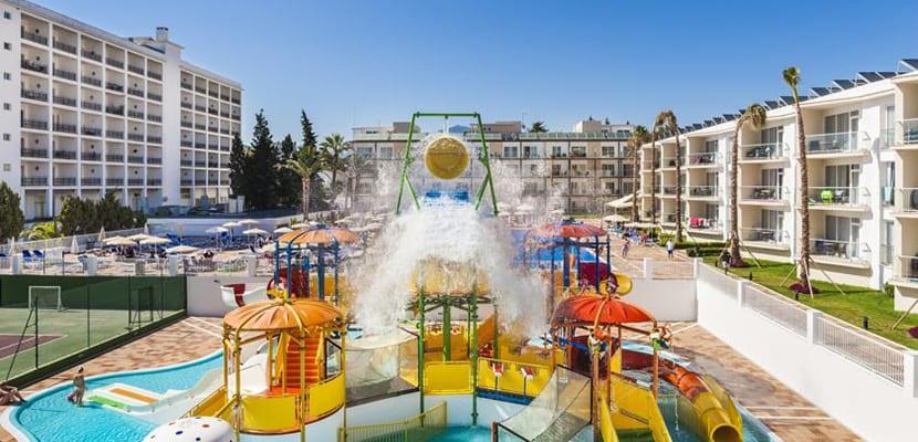 Hoteles con parques