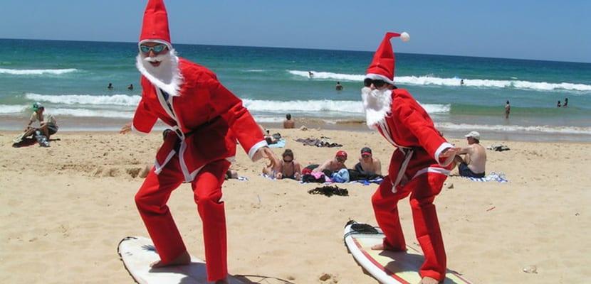 Navidad en Bondi Beach