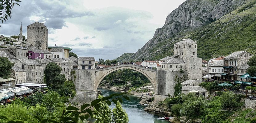 Mostar en Bosnia