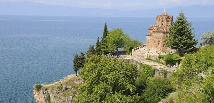 Ohrid en Macedonia