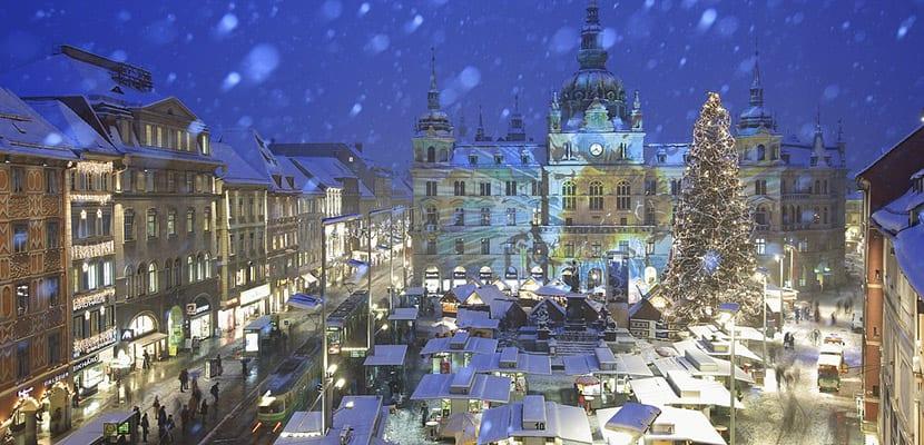 Mercado navideño en Graz