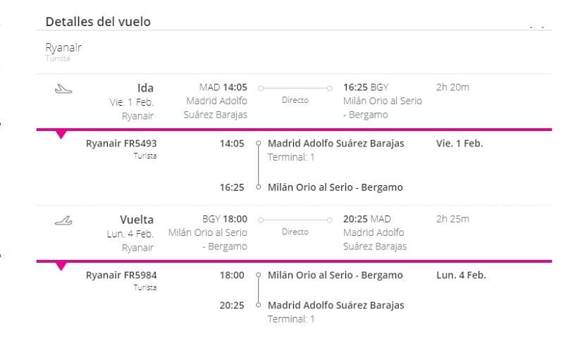 Oferta Milán fin de semana