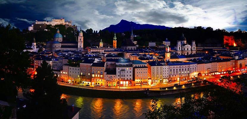 Vistas a Salzburgo