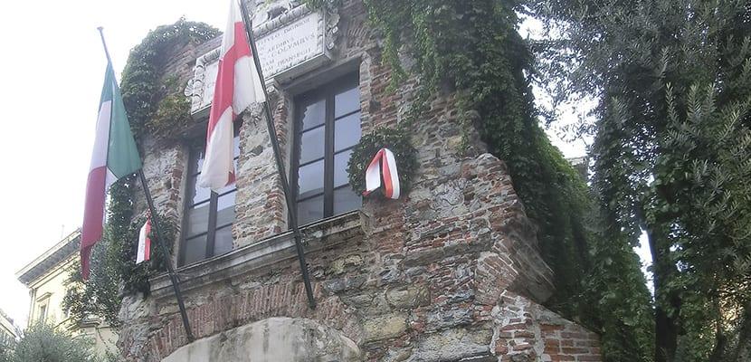 Casa Colón en Génova