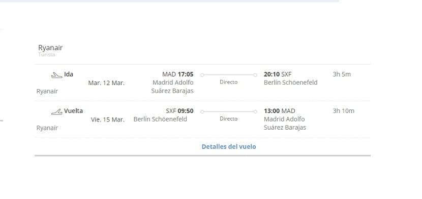 Viaje a Berlín vuelo