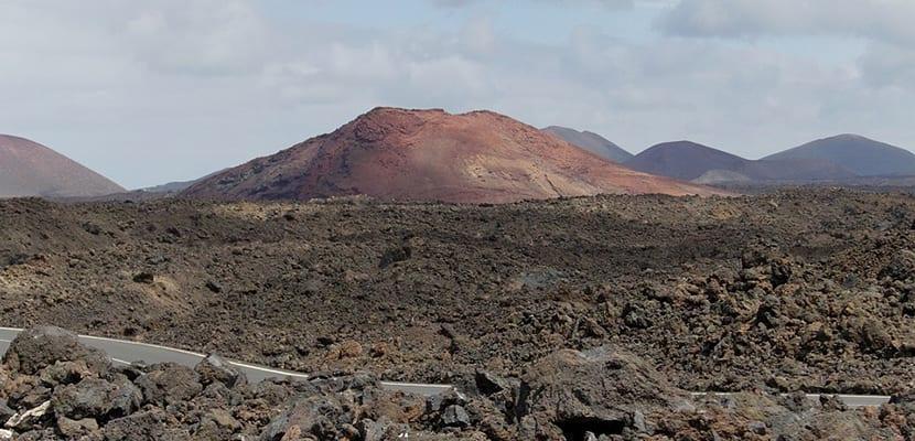 Montañas en Lanzarote