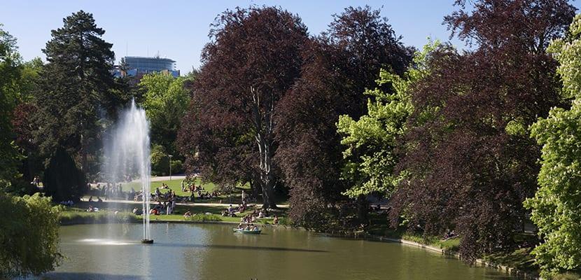 Parque de l'orangerie