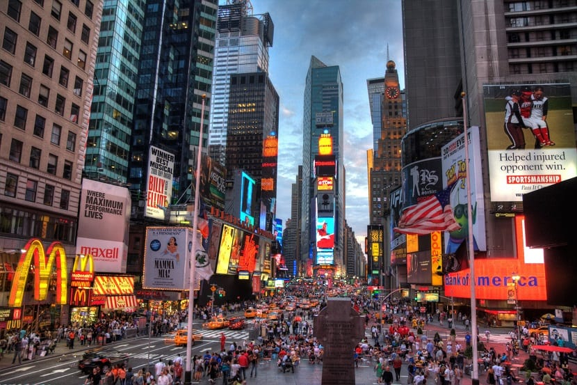 Hoteles en Times Square