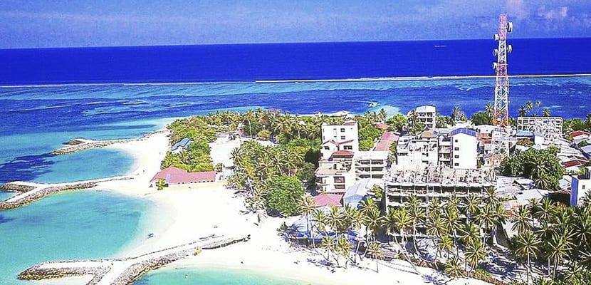 Maafushi isla