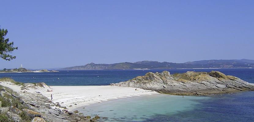 Playas en las Islas Cíes