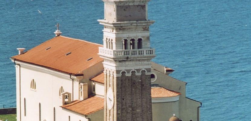 Iglesia de Piran