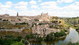 El río Tajo a su paso por Toledo