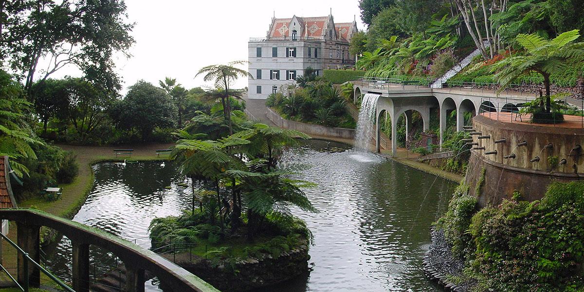 Jardines en Funchal
