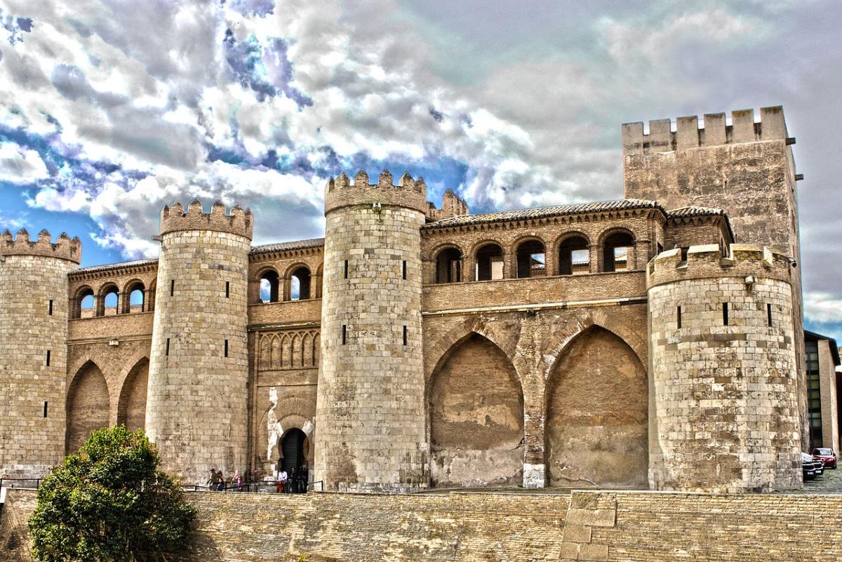 El Palacio de Zaragoza es inmenso