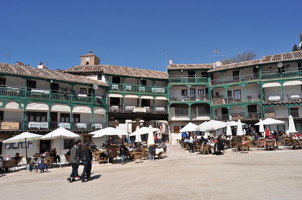Imagen de la Plaza Mayor de Chinchón