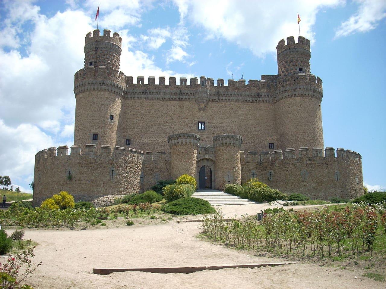 Imagen del Castillo de Manzanares el Real