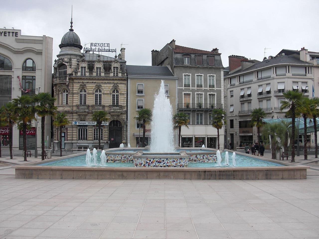 La plaza Clemenceau