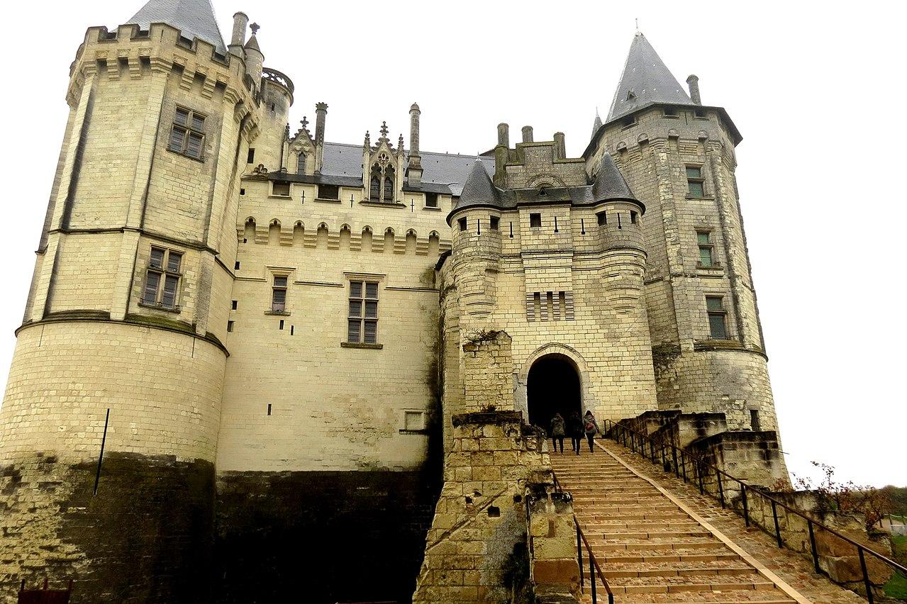 Foto del castillo de Saumur