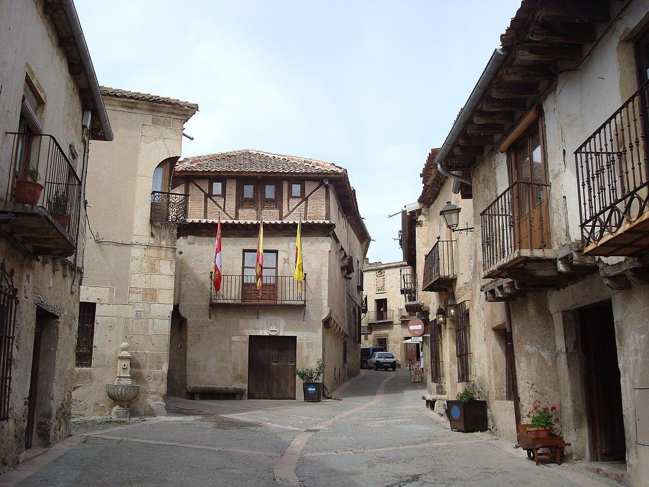 Una calle en Pedraza