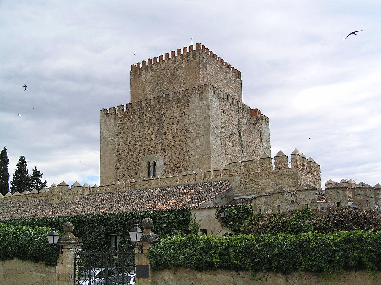 Vista del castillo de Enrique II