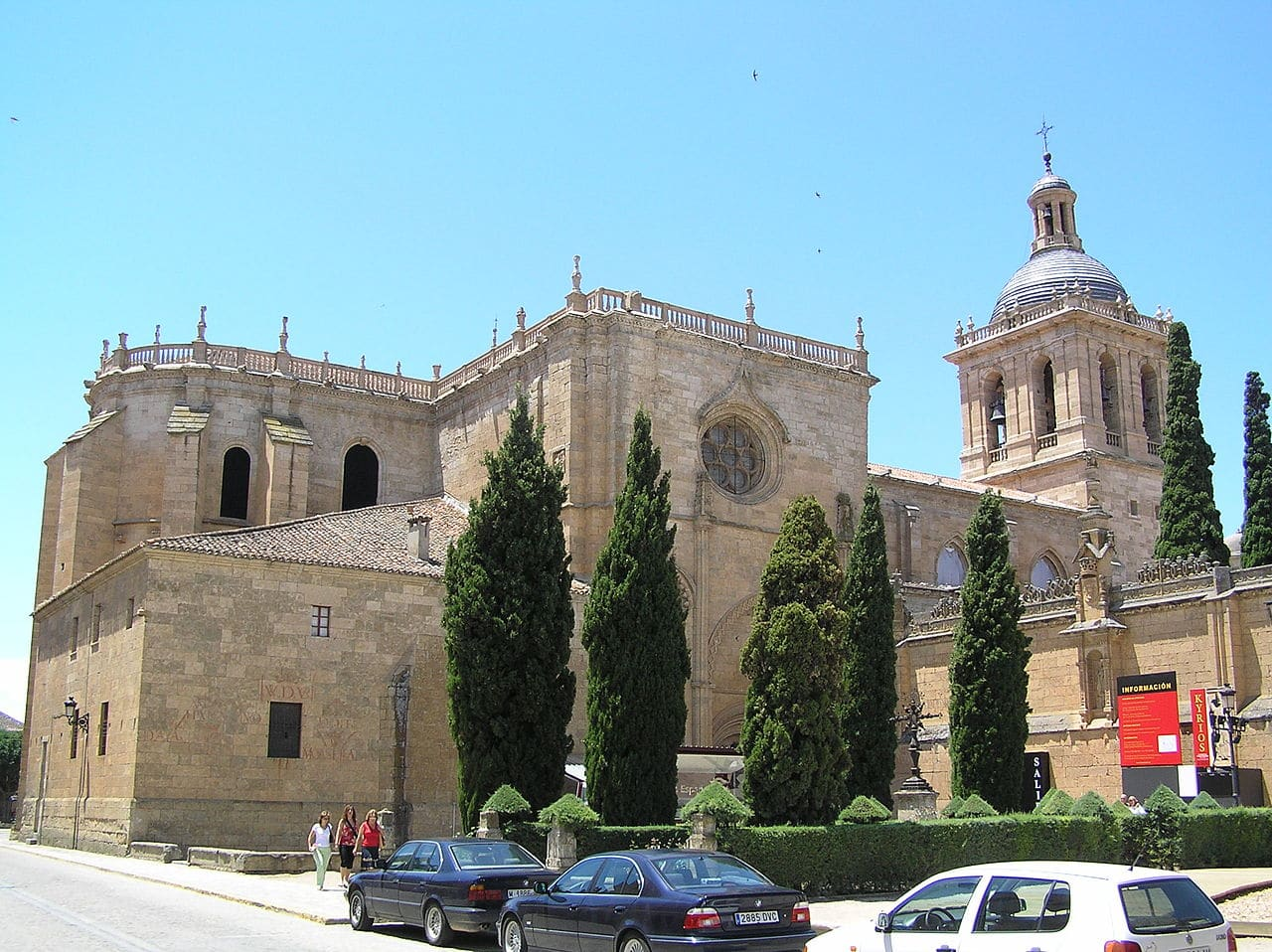 Vista de la catedral de Ciudad Rodrigo