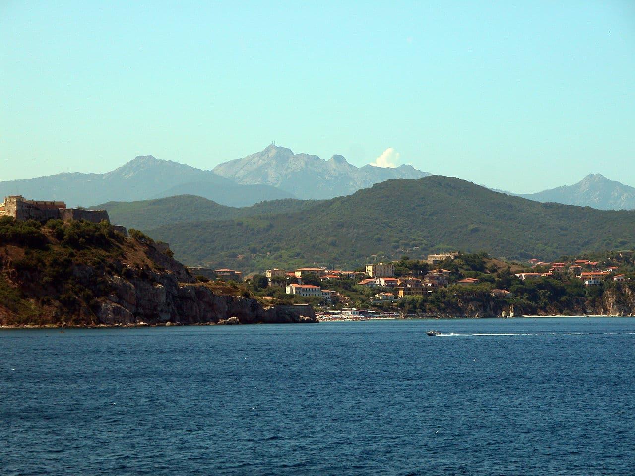 Foto de la isla de Elba