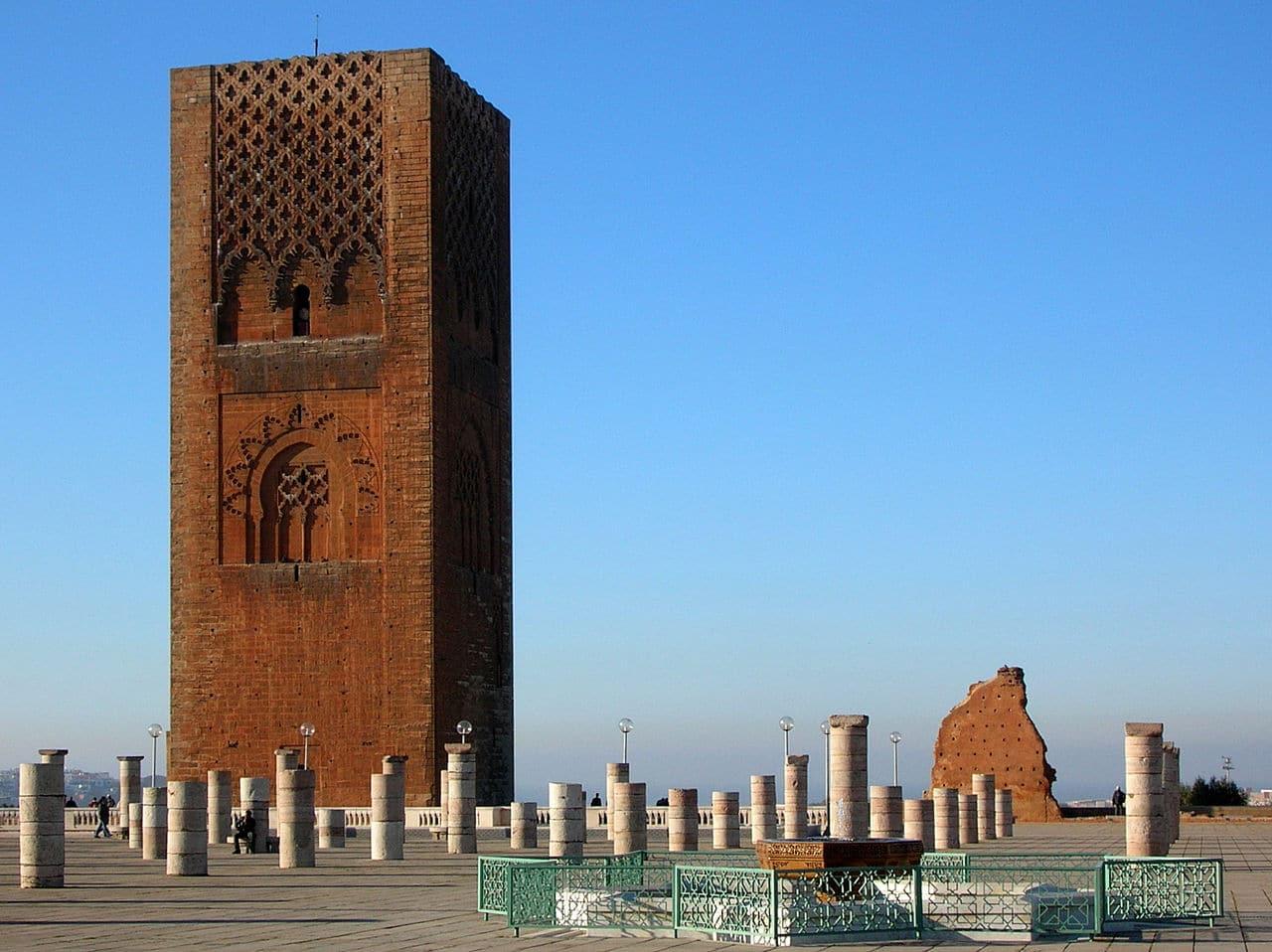 Vista de la Torre Hassan
