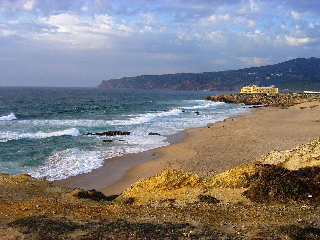 Vista de la playa de Guincho