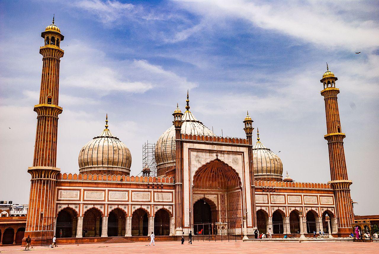 Vista del Jama Masjid