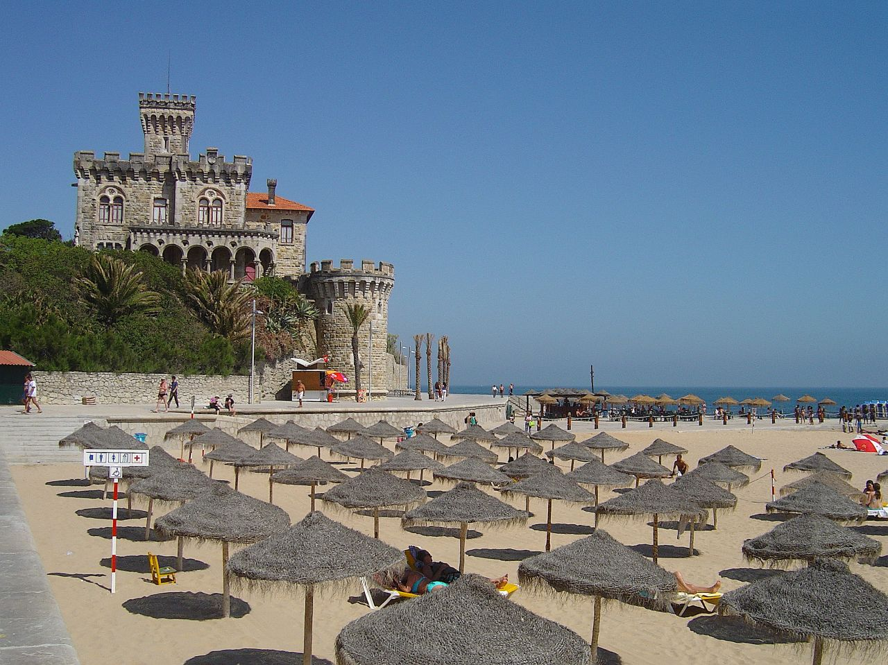 Vista de la playa de Tamariz