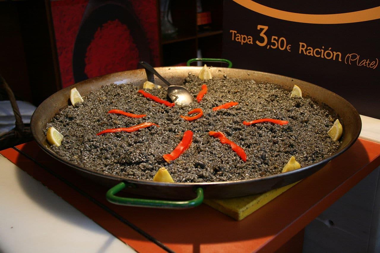 Un arroz negro