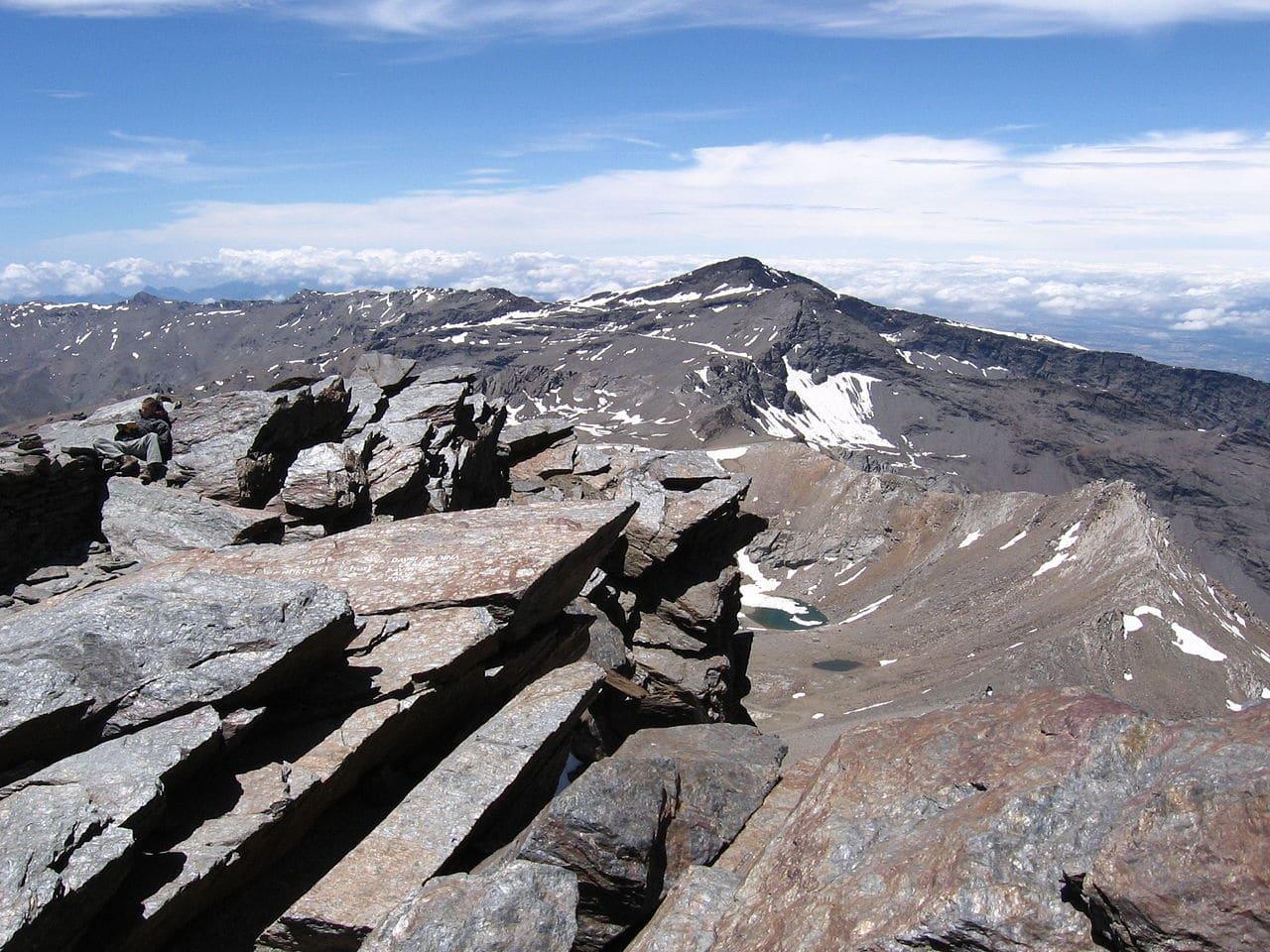 Vista del pico Veleta