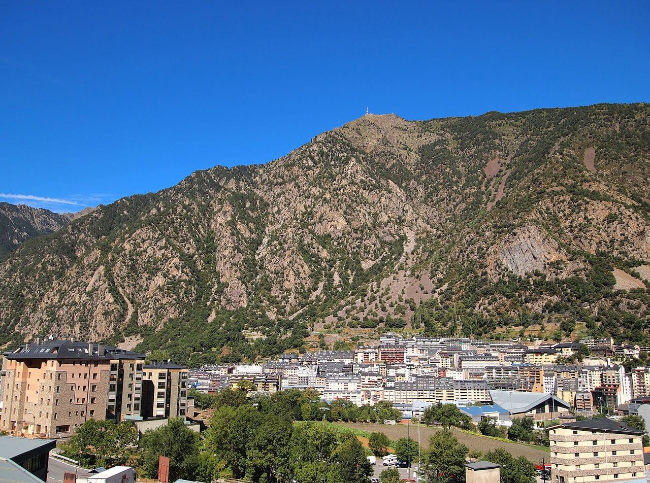 Vista de Andorra la Vieja