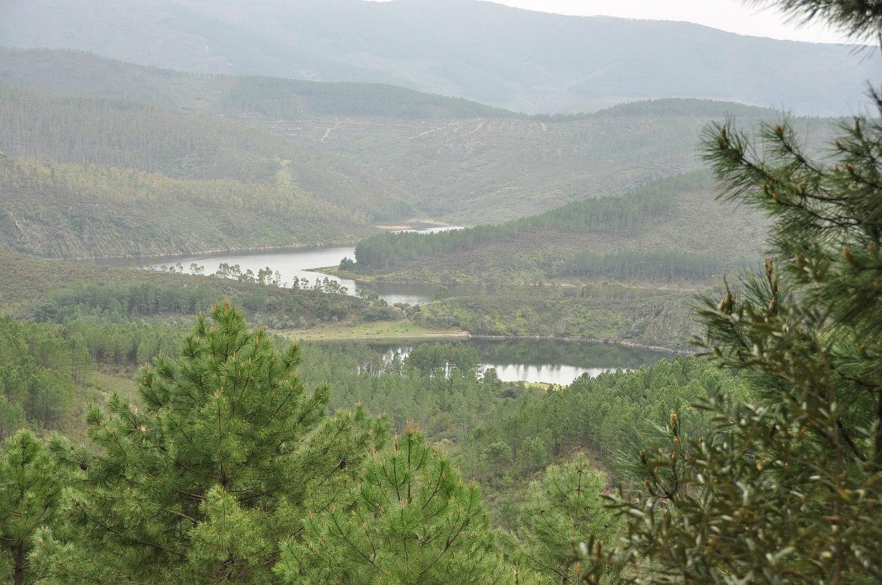 Vista de Las Hurdes